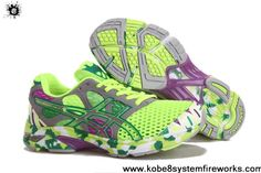 Cheap Discount Womens Asics Gel Noosa TRI 7 Volt Neon Green Grey Volt Shoes Shop