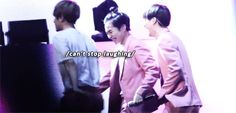 Lotte Lovely Young Concert 150723 : Call Me Baby - Xiumin and Kai laughing after Xiumin slipped (4/4)