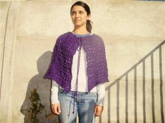 Broomstick Lace Shawl and Capelet Both in One - Media - Crochet Me