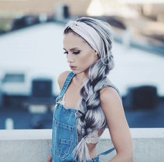Best Hairstyles & Haircuts for Women in 2017 / 2018 : A head scarf is an amazing accessory: no matter how you wear it you will look g Goddess Hairstyles, Headband Hairstyles, Hairstyles Haircuts, Braided Hairstyles, Female Hairstyles, How To Wear Headbands, Thick Headbands, Boho Headband, Headband Styles