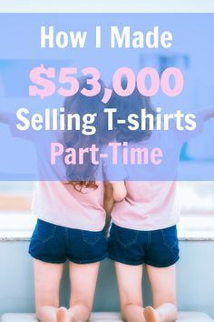 How to start a t-shirt business with Merch by Amazon - no inventory, no printing, and no shipping. Just come up with designs and upload. via @sidehustle
