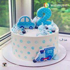 33 Ideas birthday cake fondant boy sweets for 2019 Mickey Mouse Birthday Cake, Baby Birthday Cakes, Baby Boy Cakes, Baby Shower Cupcakes For Boy, Cupcakes For Boys, Fondant Cakes, Cupcake Cakes, Rodjendanske Torte, Elephant Cakes