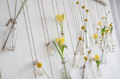 beautiful dangling flower backdrop