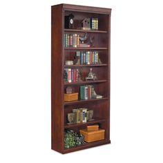 "kathy ireland Home by Martin Furniture Huntington Club 84"" Open Bookcase & Reviews | Wayfair"
