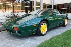 Lotus Esprit Jim Clark Edition/(john deer) =P Nissan Trucks, Ford Trucks, Antique Cars, Scotts Valley, Lotus Esprit, High Performance Cars, Lotus Car, Car Brands, Ford
