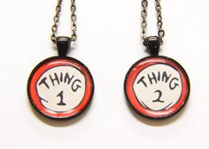 Dr. Seuss Necklaces | 38 Perfect Pieces Of Jewelry To Share With Your Best Friend