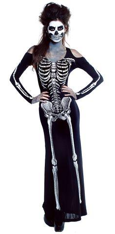 Bone Appetit Skeleton Dress Costume Price: $59.99