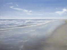 "Sullivans Island by Tricia Strickfaden. 30"" x 40"" oil on canvas. www.tsmodernsrt.com"