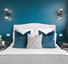 The Block 2016 Guest Bedroom Apartment 4 Julia & Sasha Asian Home Decor, Guest Bedrooms, Master Bedrooms, Guest Room, Wall Sconces, Bedroom Decor, Bedroom Ideas, Bedroom Interiors, Bedroom Designs
