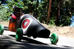Design and race your own soapbox car!