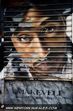 New York Murales | Harlem | Tupac: Murales in Harlem in memory of 2Pac