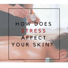 """When you're stressed, the hormone cortisol is released, triggering """"Glycation."""" Bad news. It damages collagen and increases the appearance of lines and wrinkles. It also decreases the skin's natural production of  hyaluronic acid, a beneficial and natural moisturizer. It can also damage the skin's ability to keep hydration levels up. When these things happen, the skin becomes dry looking.  #dryskin #agingskin #arganoil #skintip #blogger"""
