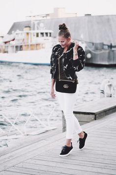 Jeanette Sundøy – Bomberjacket - By Malene Birger - Outfit - Fashion