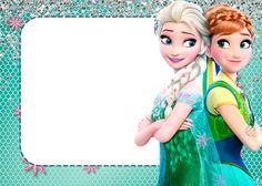 Frozen Fiebre Congelada: Invitaciones para Imprimir Gratis.