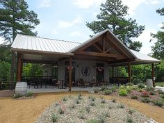 Grand Oaks Vineyards and Winery is located in Mineola and is owned by Carroll and Martha McHenry. Texas Wineries, Winery Tasting Room, Gazebo, Vineyard, Outdoor Structures, Cabin, Luxury, House Styles, Metal