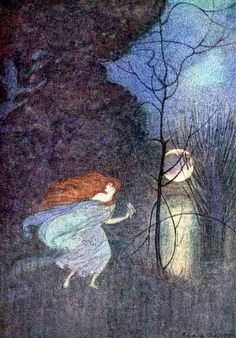 Illustration as it used to be... - 'Grimm's Fairy Tales' illustrated by Elenore...