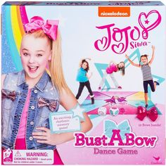 Cardinal Games Cardinal (Red) Games Nickelodeon JoJo Siwa Bust a Bow Dance Game New Dance Moves, Best Dance, Jojo Games, Sanrio, Jojo Siwa Birthday, 7th Birthday, Aaliyah Birthday, Birthday Celebration, Cardinals Game