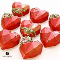Artisan Chocolate, Chocolate Hearts, Popsicles, Cake Pops, Geo, Cake Ideas, Cocoa, Cake Recipes, Valentines Day