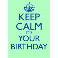 it´s your birthday