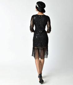 df81129477a 1920s Dresses   Flapper-Inspired Fashion – Unique Vintage Vintage Flapper  Dress