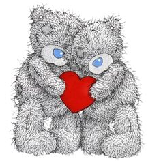 Tatty Teddy Images and Pictures - Page 3 Tatty Teddy, Teddy Bear Images, Teddy Bear Pictures, Sacred Heart Pictures, Urso Bear, Bear Paintings, Blue Nose Friends, Bear Valentines, Valentine Cartoon