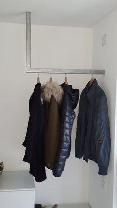 Garderobe Kleiderstange Garderobe Garderobenstange Wand zu | Etsy