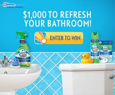 Pledge Home Cleaning-Scrubbing Bubbles Sweepstakes | Get FREE Samples by Mail | Free Stuff