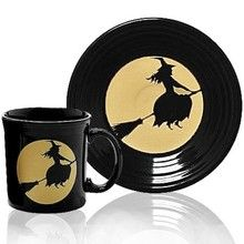Fiesta® Halloween Moonlit Witch Tableware Luncheon size plate only. Would love some of these.