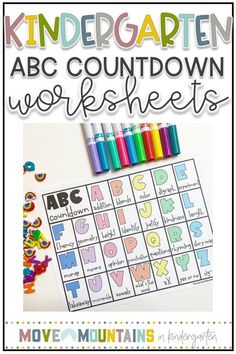 ABC countdown is one of my favorite end of the year activities. Grab a free calendar that has days based off of standards that is easy, low prep and fun! Kindergarten Activities, Classroom Activities, Classroom Ideas, Future Classroom, Preschool, Teaching The Alphabet, Alphabet Activities, End Of Year Activities, Book Activities
