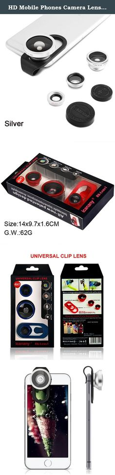 HD Mobile Phones Camera Lens, Megedream 2 in 1 Macro Lens + Super Wide Angle Lens + CPL Lens Camera Lens Kit Universal Professional Digital SLR Pro Lens Kit for iPhone Samsung Table. 1. Fashion and clip design, portable and lightweight. 2. Made of high quality material, durable and sturdy. 3. Universal type, suitable for iPhone, for iPad, for Samsung, for HTC and other smart phones. 4. 3-in-1 universal clip lens: Wide angle, macro lens, fish-eye lens. 5. Macro lens can take clear photos…