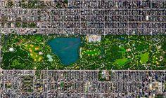 Top 21 des paysages incroyables qu'on peut voir en prenant de la hauteur, le monde vu du dessus