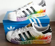 Adidas Pride Pack  So in love with my shoes!