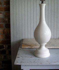 Vintage Mid Century Modern Lamp by VintageHomeShop on Etsy, $129.00