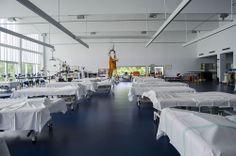 El nuevo espacio de trabajo para los fisioterapeutas del HNP