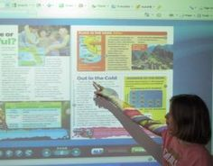 Teach current events with Scholastic News on an interactive whiteboard.