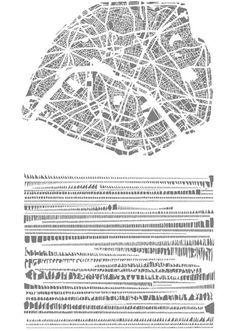 figure ground map art - Google Search