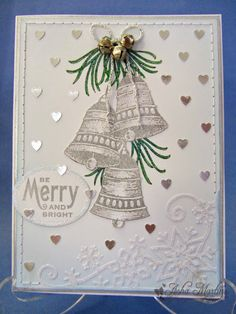 Sunny Summer Crafts: Christmas Card Club #25: Silver Bells / All I Want For Christmas