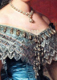 Isabela II of Spain by Federico de Madrazo y Kuntz