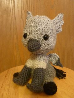 Buckbeak Amigurumi free pattern (follow the link), pattern takes a bit of know-how (not easy to figure out!) but super cute!!