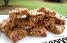 Grainless-ola Bars (Granola Bars Without Grains)  embedded in the recipe is the link for the ingredient, SF sweetened condensed granola bars!