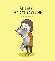 Cats humor cartoon 66 ideas for 2019 Crazy Cat Lady, Crazy Cats, Catsu The Cat, Cat Love Quotes, Amor Animal, Cat Comics, Funny Comics, Gatos Cats, Photo Chat
