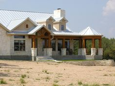 Country Exterior - Other Elevation Plan #80-119 - Houseplans.com
