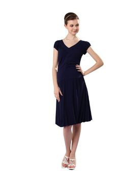 Front Gathered Baloon Nursing and Maternity Dress « Clothing Impulse
