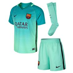 88871395f21 Nike FC Barcelona 2016 17 Junior Third Kit Futebol