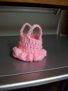 Free Ballerina Basket Crochet Pattern - Orble