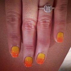 Umbre nails