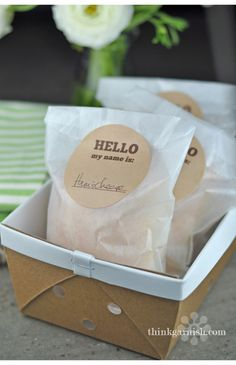 great website for simple packaging materials that you can get creative with