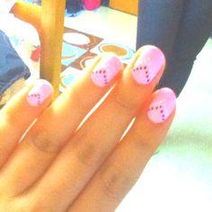 My cute nail design