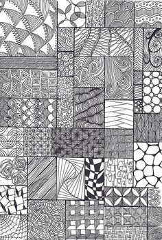 How To Zentangle Patterns | Recent Photos The Commons Getty Collection Galleries World Map App ...