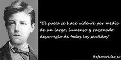 """Hoy se cumplen 160 años del nacimiento del poeta maldito Arthur Rimbaud, autor de """"Una temporada en el Infierno"""" . . .  20 / 10 / 2014  . . . @swami1951"""